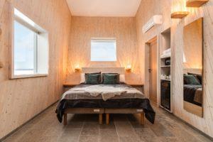 Room in Water cabin at Arctic Bath Sweden