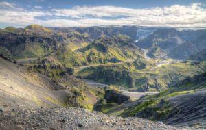 Thorsmork in Iceland